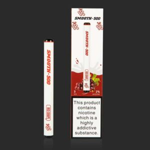SMOOTH 500 RED GRAPES DISPOSABLE VAPE PEN