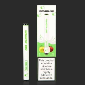 SMOOTH 500 DOUBLE APPLE DISPOSABLE VAPE PEN
