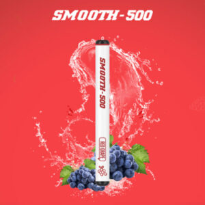 SMOOTH500 Red Grapes Disposable Vape (3 Pcs Pack)
