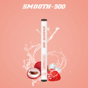 SMOOTH500 – Litchi Strawberry Lush ice Disposable (3 Pcs Pack)