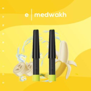 E-Medwakh Replacement Pods Banana Ice