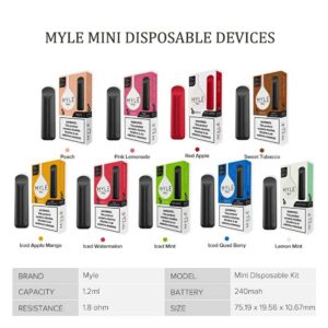 MYLE Mini Iced Disposable Device