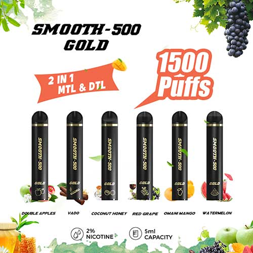 smooth-500-gold-disposable-vape-pod
